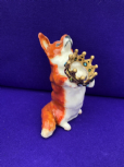 Eve Pearce Hand-Made Model - Corgi with Crown